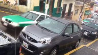 Frente frío 38 provoca descenso de temperatura y tormentas eléctricas en Veracruz
