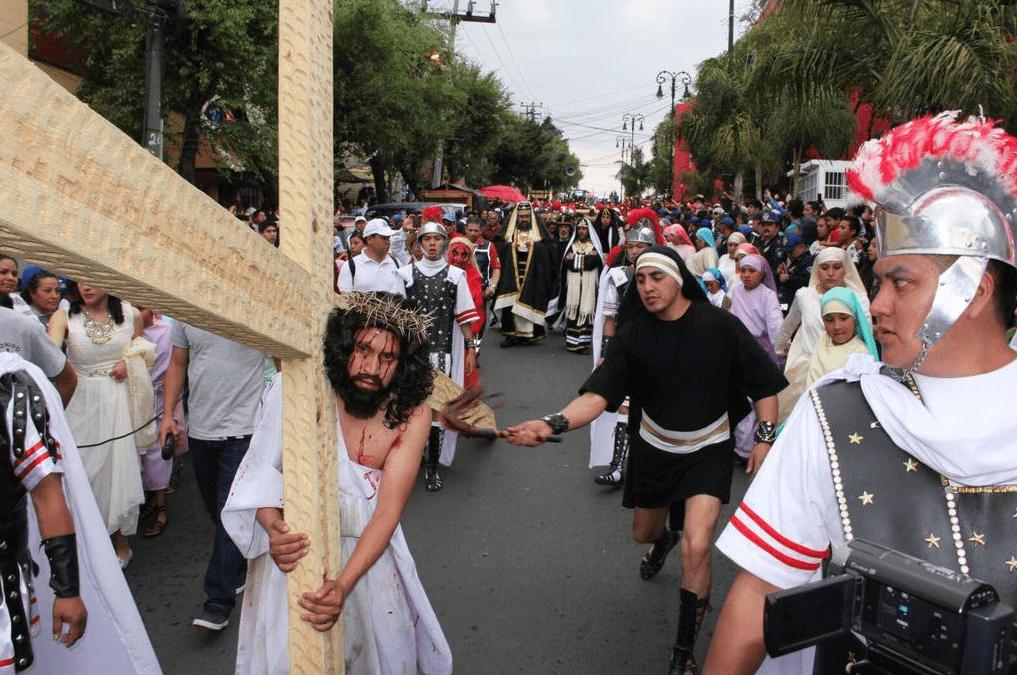 Cuajimalpa, segunda representación más importante de la Pasión