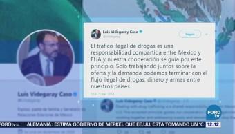 Videgaray responde a Trump sobre el problema de las drogas