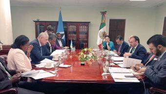 México y Santa Lucía refuerzan lazos de cooperación y diálogo político
