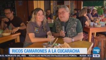 Viernes culinario: Camarones a la cucaracha estilo Sinaloa
