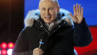 Putin dice que se centrará en política interior en próximos 6 años