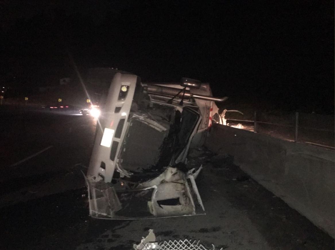 volcadura de tráiler afecta carretera méxico toluca