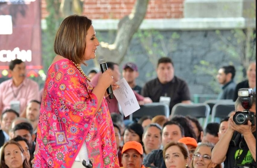 Xóchitl Gálvez deja jefatura de la Miguel Hidalgo; busca senaduría