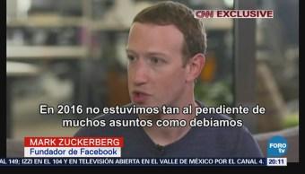 Zuckerberg reconoce errores en seguridad de Facebook