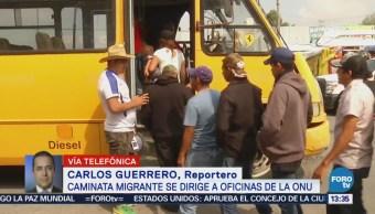 180 miembros del Viacrucis Migrante llegan a oficinas de la ONU