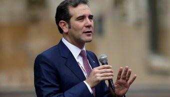 ine no da ganadores da resultados aclara lorenzo cordova a inversionistas