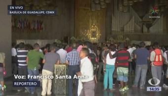 La Caravana Migrante Visita Basílica Guadalupe