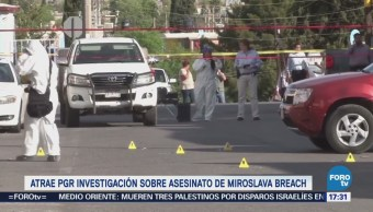 Pgr Atrae Investigación Homicidio Miroslava Breach