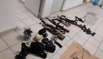 Detienen a cuatro hombres armados en Culiacán, Sinaloa