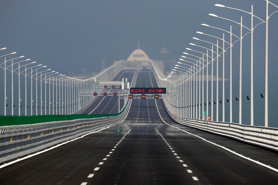 China el puente marítimo más largo del mundo