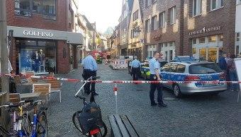 Alemania descarta que atropellamiento masivo en Münster sea atentado terrorista