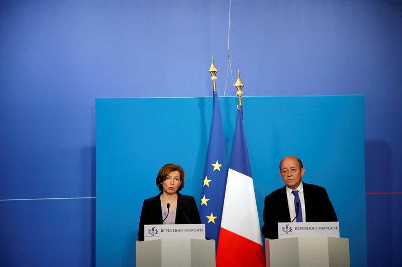 rusia estaba informado ataque siria asegura francia
