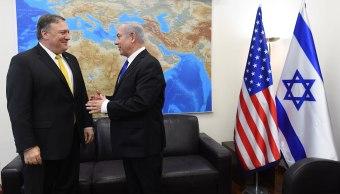 Pompeo llega a Israel para reunirse con Netanyahu en primera visita al país