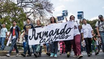 Hacen caminata en Caracas para honrar a 'caídos' en protestas de 2017