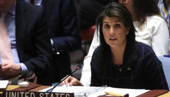 Nikki Haley asegura no se confundió al anunciar nuevas sanciones a Rusia