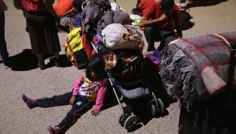 Llegan a Tijuana primeros centroamericanos de la Caravana Migrante