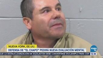 Abogado pedirá nueva evaluación mental de Joaquín 'El Chapo' Guzmán