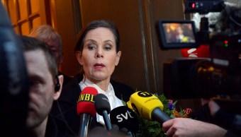 Academia Sueca destituye su secretaria permanente Sara Danius