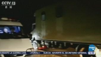 Accidente de tránsito en Corea del Norte deja más de 30 muertos