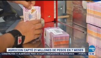 Agrocoin captó 21 millones de pesos en 7 meses