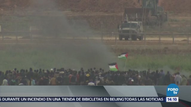 Menos 17 Muertos Enfrentamientos Gaza