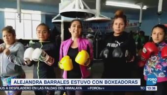 Alejandra Barrales Impulsará Deporte Cdmx