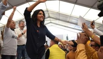 Alejandra Barrales se reúne con vecinos de Gustavo A Madero