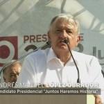Andrés Manuel López Obrador No Tolerará Corrupción