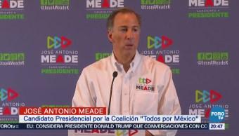 Si AMLO no entrega los dos departamentos quedará acreditado que no tiene palabra Meade