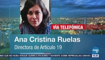 Ana Cristina Ruelas Detalla Función Plataforma México Miedo 2018