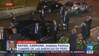 Análisis Cumbre Américas Donald Trump EU