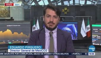 Analizan Costo Cambio Climático México, Eduardo Pirquero, Director General De Mexico-Co2