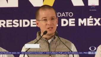 Anaya afirma estar abierto al diálogo con la CNTE y el SNTE