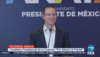 Anaya se declara ganador del debate presidencial