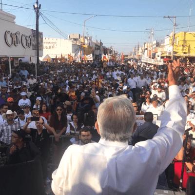 López Obrador se compromete a atender demandas de comunidades originarias