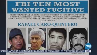 Anuncian nuevo proceso contra Rafael Caro Quintero en Estados Unidos