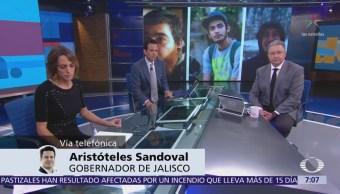 Aristóteles Sandoval: Asesinato de estudiantes es historia de terror