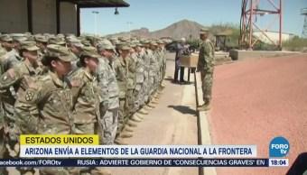 Arizona Eleva 338 Elementos Guardia Nacional Enviará Frontera
