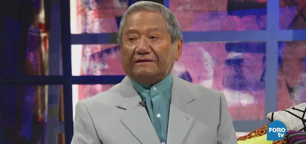 Armando Manzanero en 'El Interrogatorio' con Silvestre López Portillo