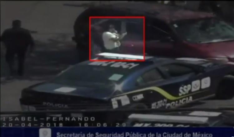 asaltantes de cuentahabientes usan bebe para confundir a policias