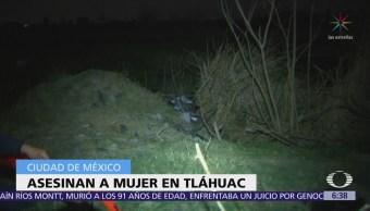 Asesinan a mujer en Tláhuac, CDMX
