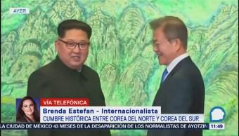 Atmosfera en península coreana cambia tras encuentro de presidentes