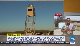 Aún no llegan los miembros de la Guardia Nacional a la frontera EU-México