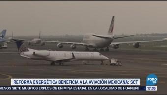 Aviación mexicana pasa por buena etapa SCT