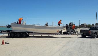 Profepa asegura barco por pesca ilegal en Alto Golfo de California