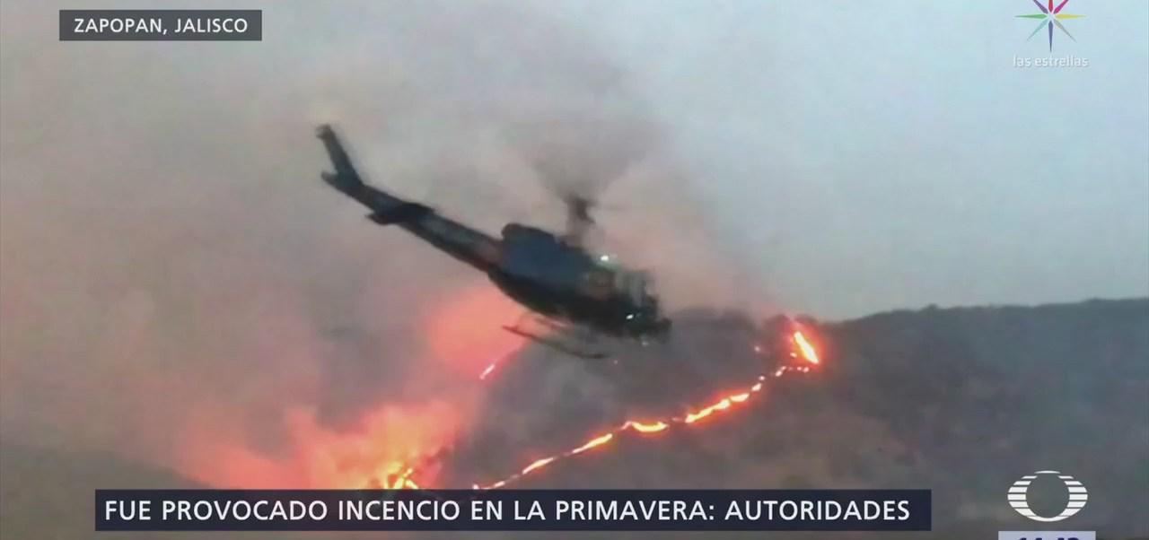 Buscan a presunto responsable de incendio en Jalisco