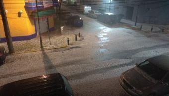 Prevén lluvias con caída de granizo en la Ciudad de México