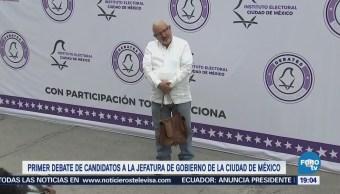 Candidatos Gobierno Cdmx Debate Primer Ciudad De México