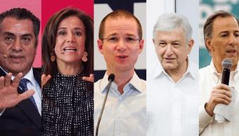 Debaten los candidatos presidenciales